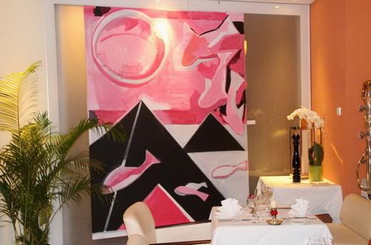 Kunst & Genuss im Refugio, dem Restaurant im La Casa