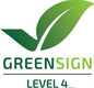 Greensign Level 4 zertifiziert